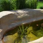 Anbau kleiner Teich